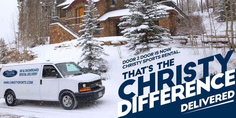 Christy Sports ski and snowboard delivery service