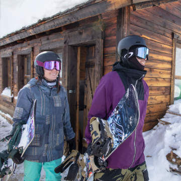 Snowboard Menu Image Right