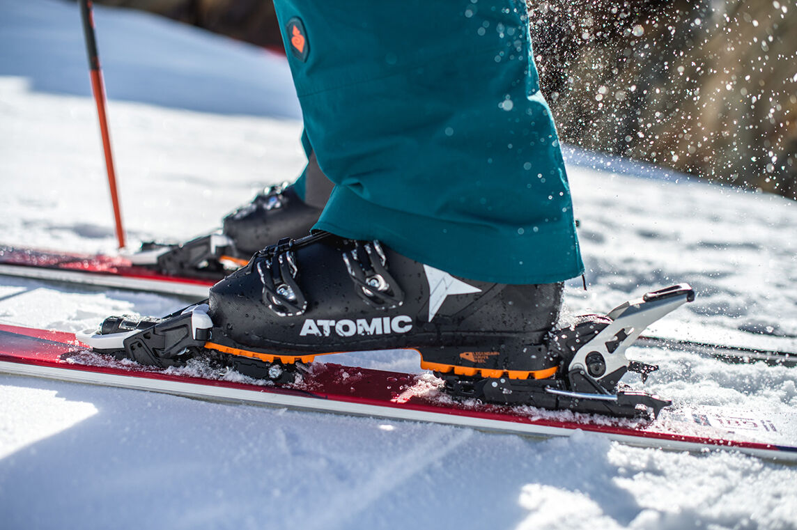 atomic ski bindings