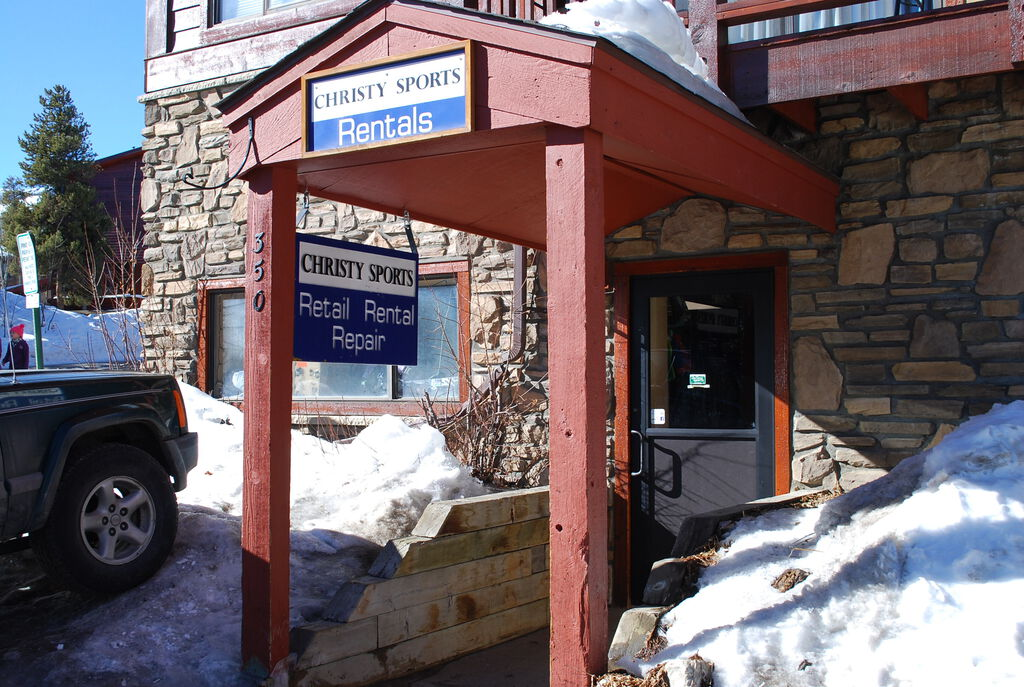 Christy Sports - Pine Ridge store front