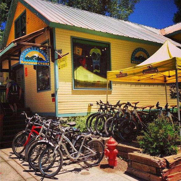 bootdoctors ski snowboard bike rental location in downtown telluride