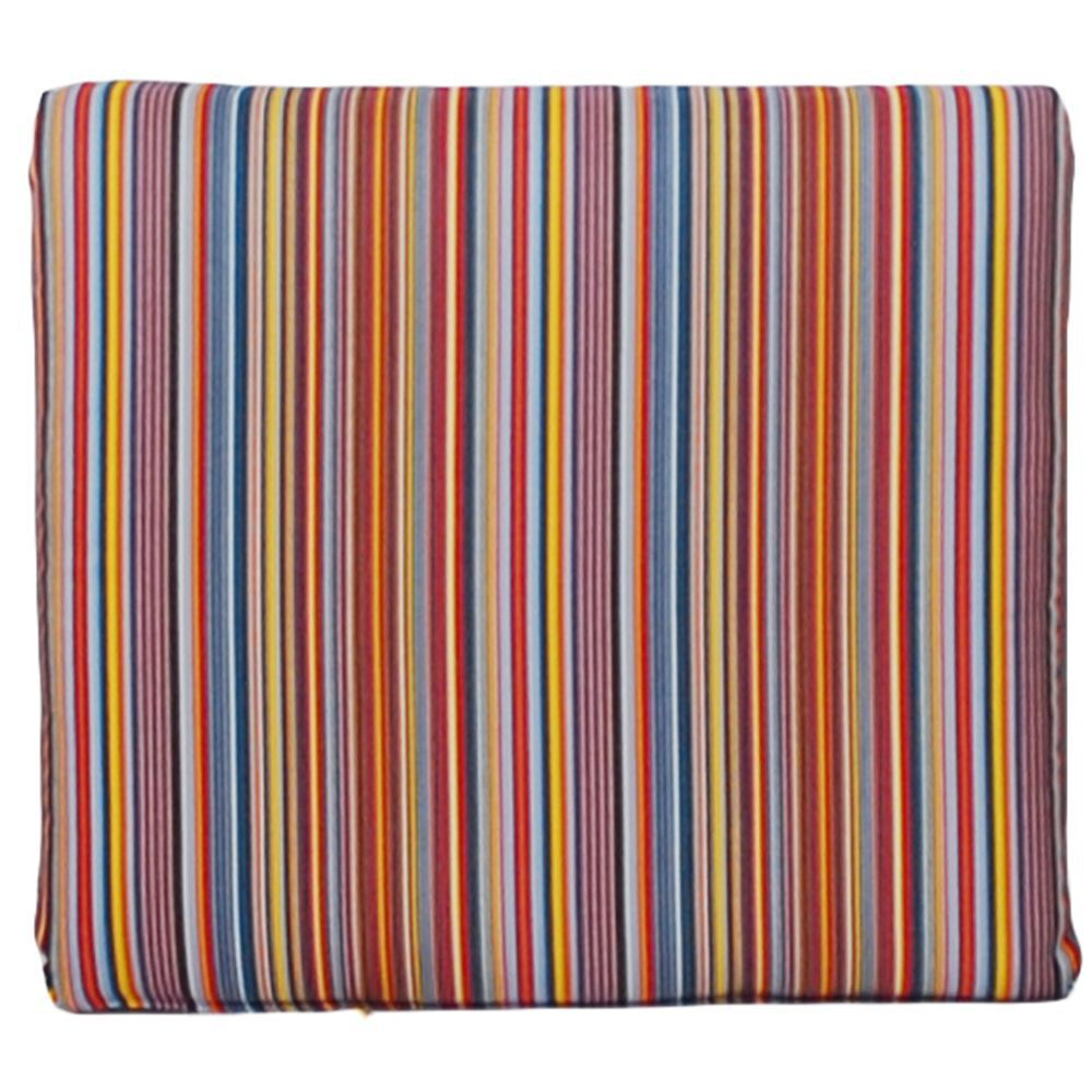 Colorful Striped Seat Pad