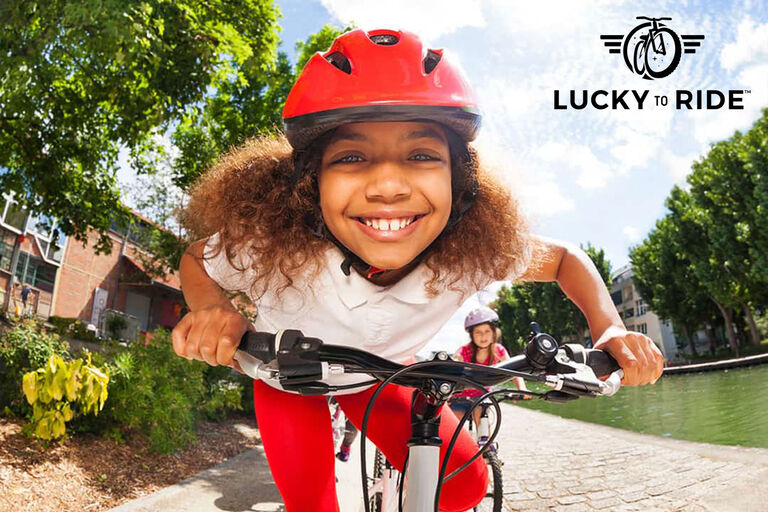 Lucky to Ride, empowering at-risk and disadvantaged youth, using the bicycle as a tool to foster positive life skills