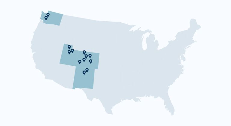 christy sports location map