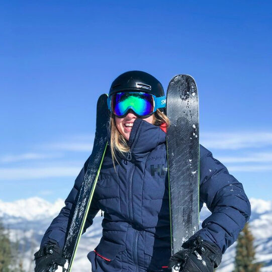 bluebird colorado day with a smile