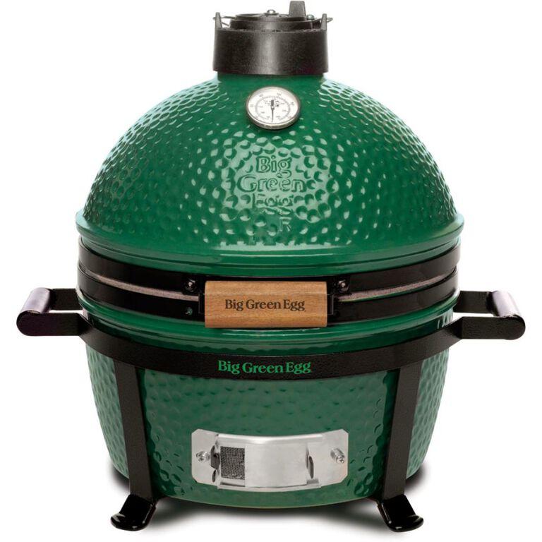 MiniMax version of Big Green Egg Brand Grill