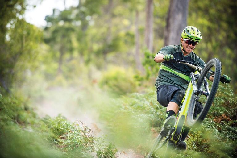 Christy sports Bike Network - -rider wheelie