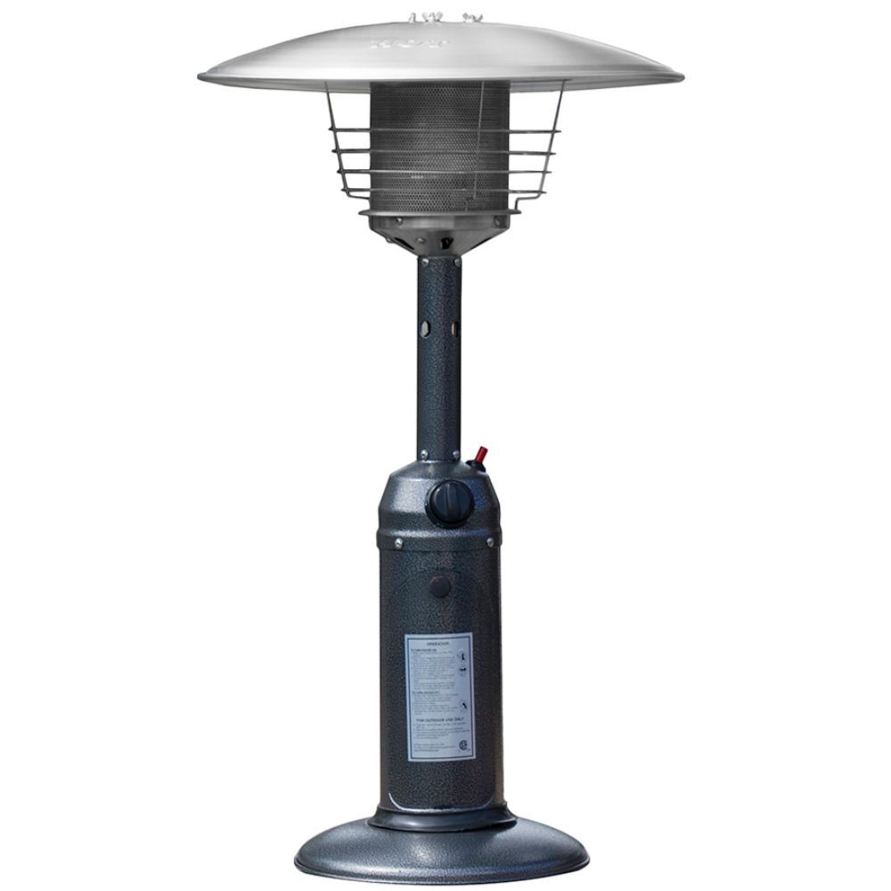 Small Table Top Patio Heater with Butane fuel