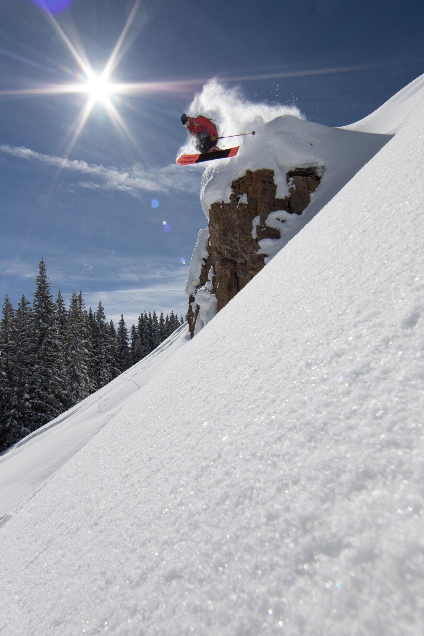 big air fat skis wide brakes