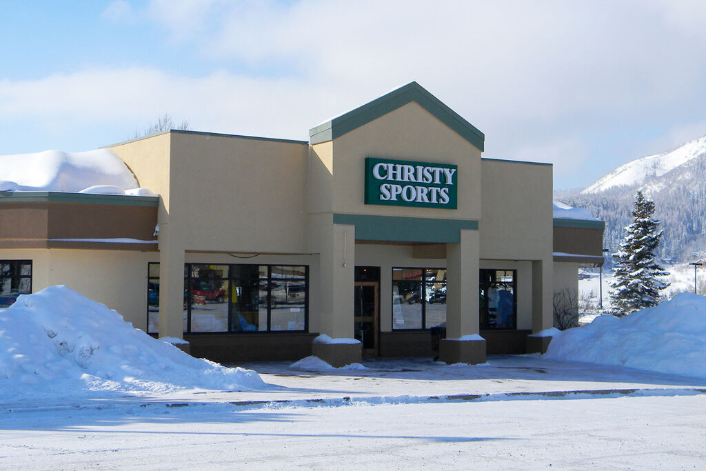 Christy Sports - Central Park, Steamboat Storefront