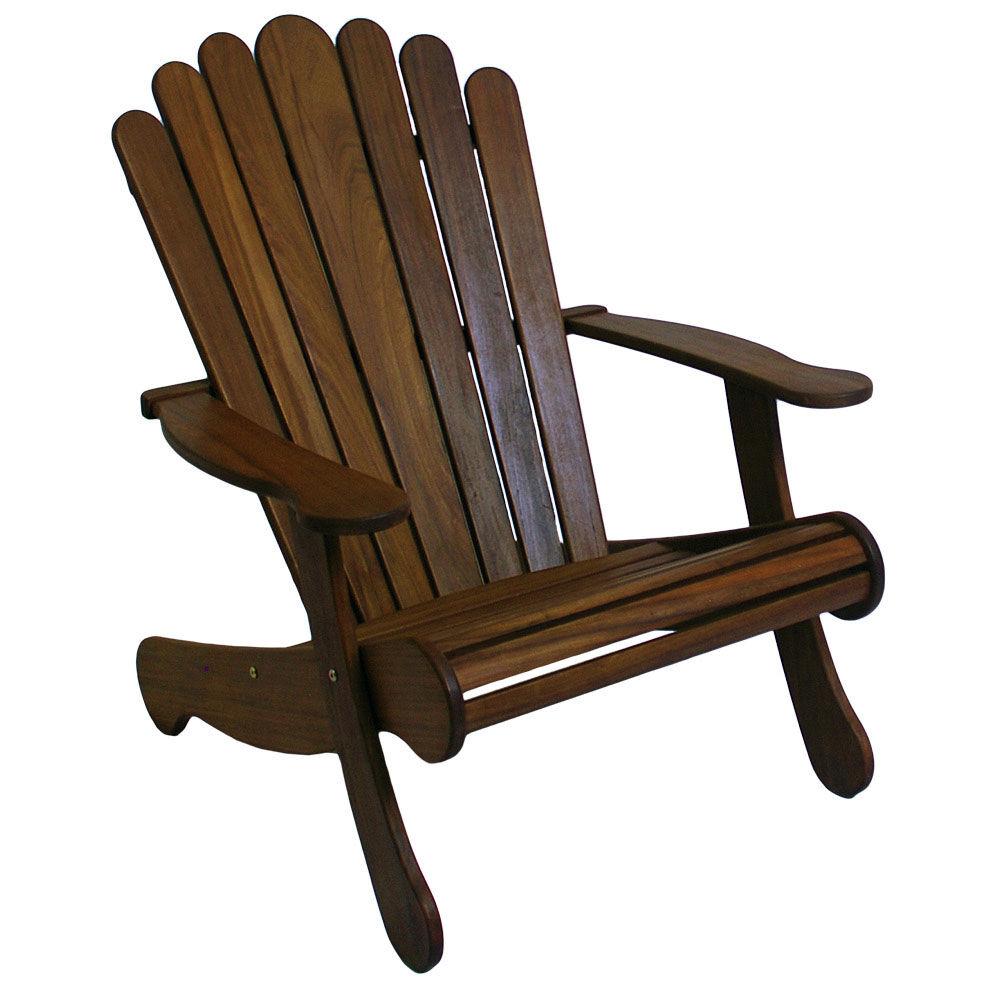 IPE Wooden Adirondack Patio Chair