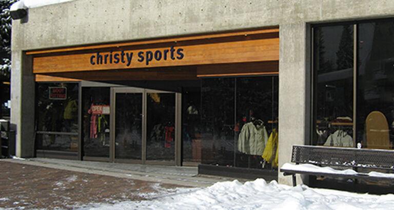 Christy Sports - snowbird store