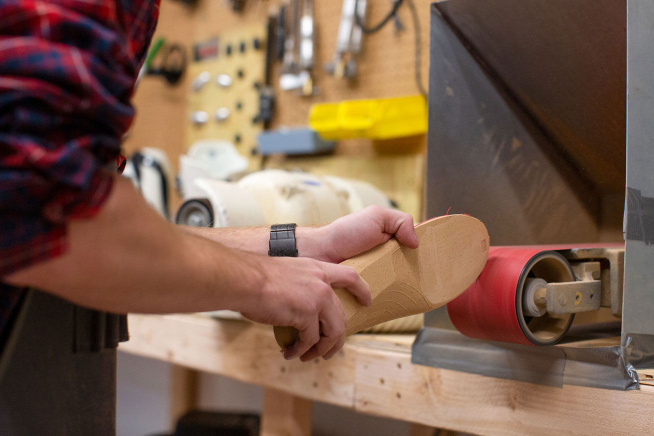 custom boot fitting and footbeds