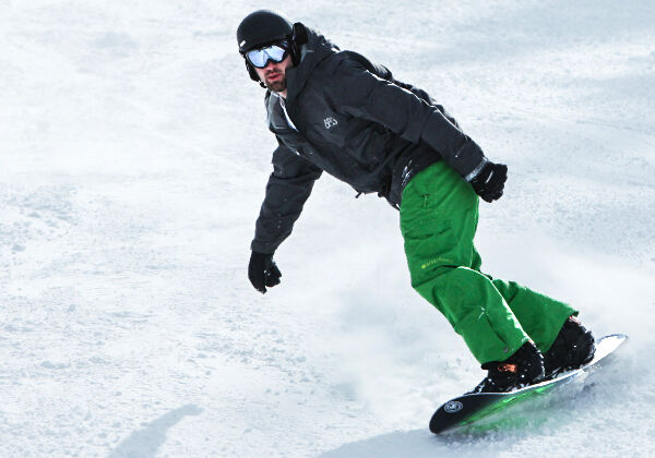 learn to ride snowboard rental packages