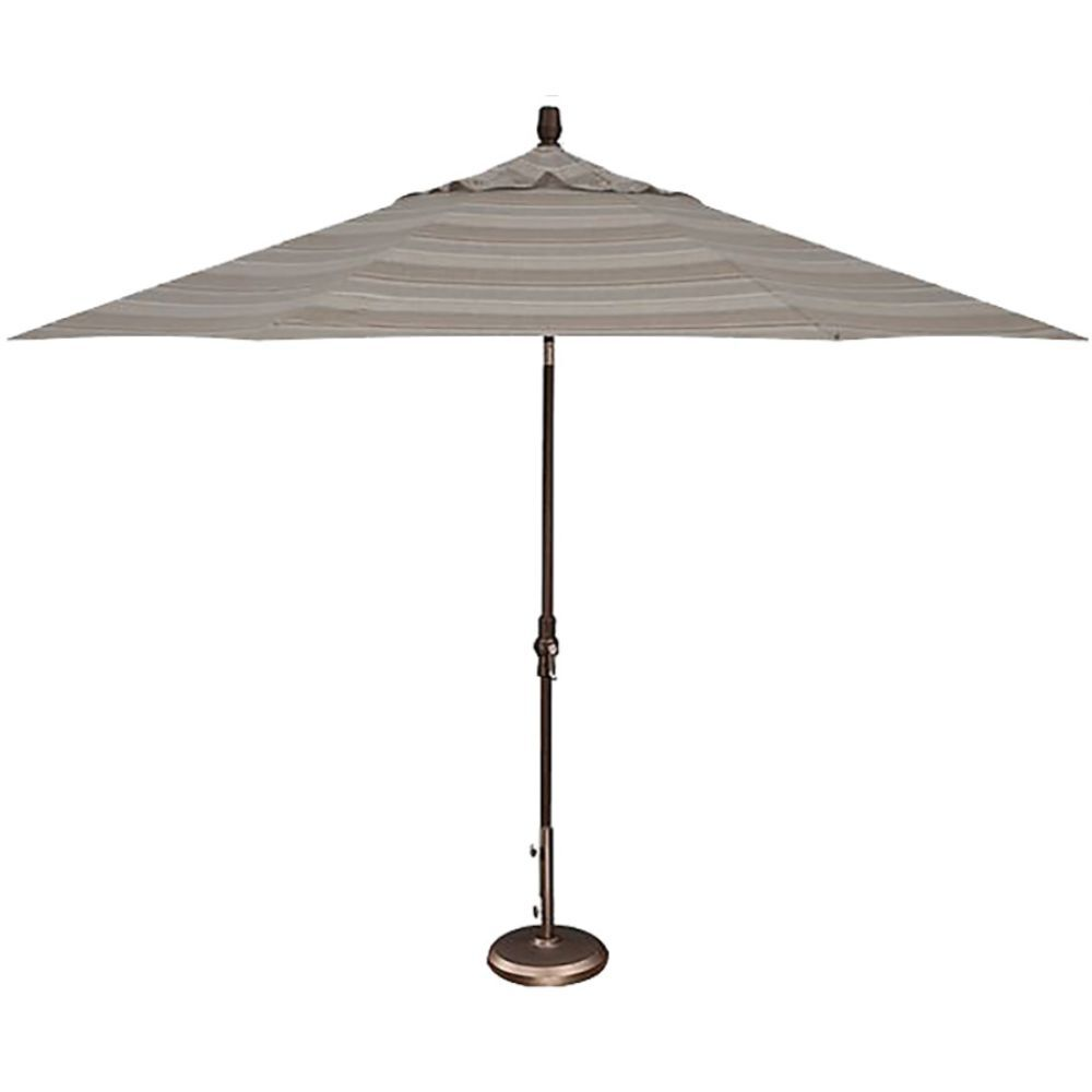 Grey Patio Umbrella With Stand