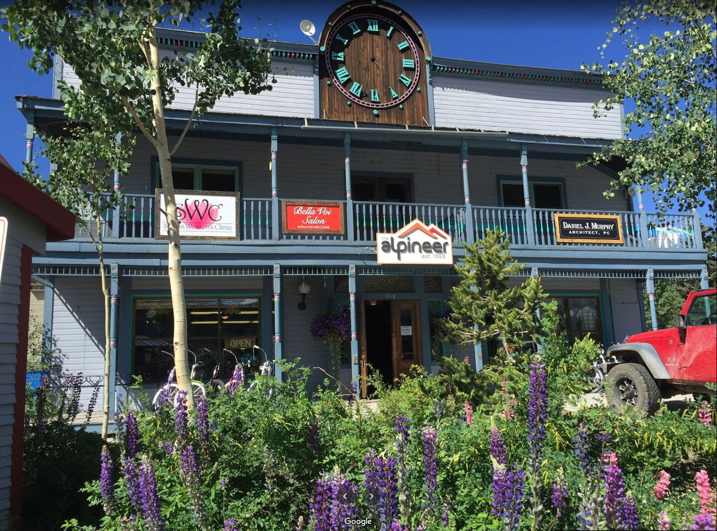 Christy Sports at The Alpineer Crested Butte Storefront