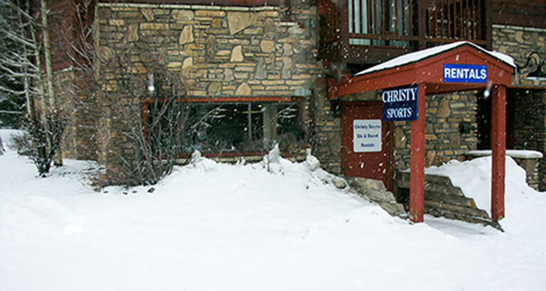 christy sports pine ridge ski and snowboard rental location in breckenridge