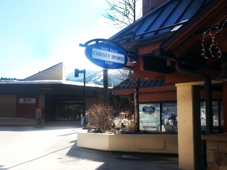 Christy Sports - breck village store front