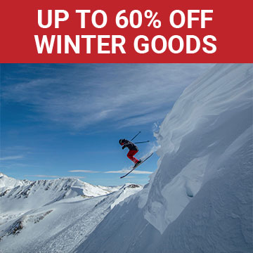 Up to 60% off winter goods