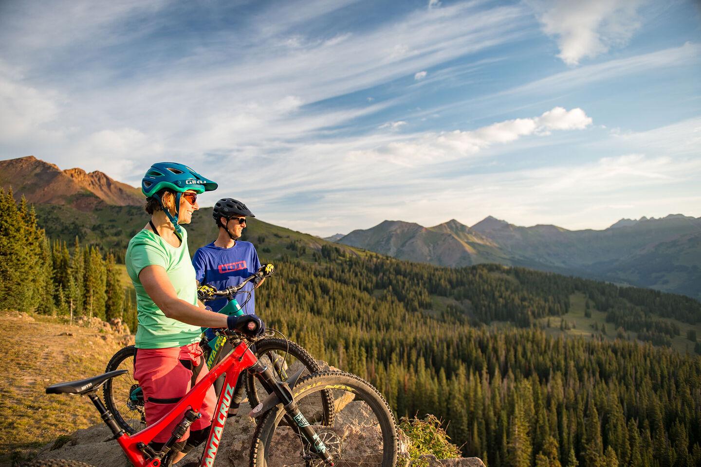 Christy Sports Bike Network - Riders in a meadow