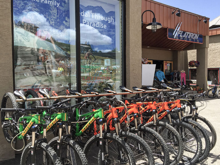 Christy Sports at Flatiron Sports Crested Butte Storefront