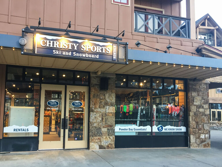 Christy Sports - Main Street Station store front