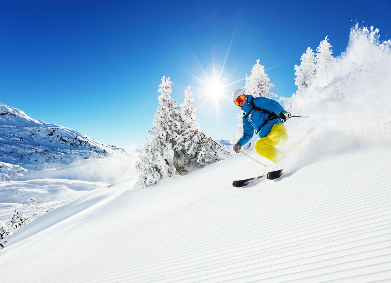 end of season ski and snowboard sale