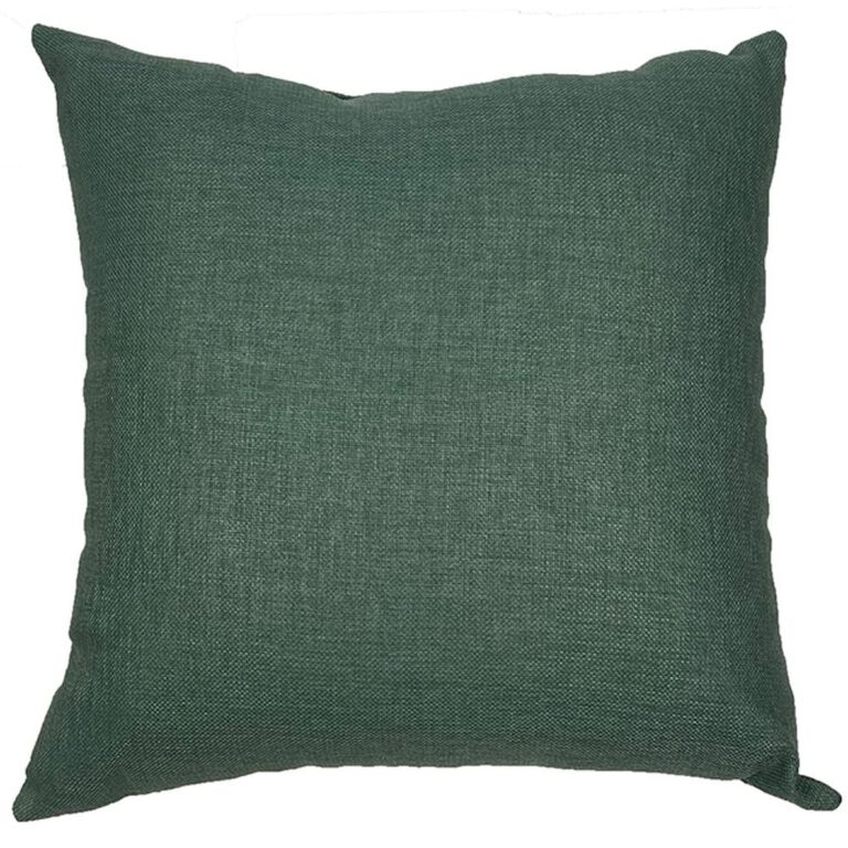 Teal Square Pillow