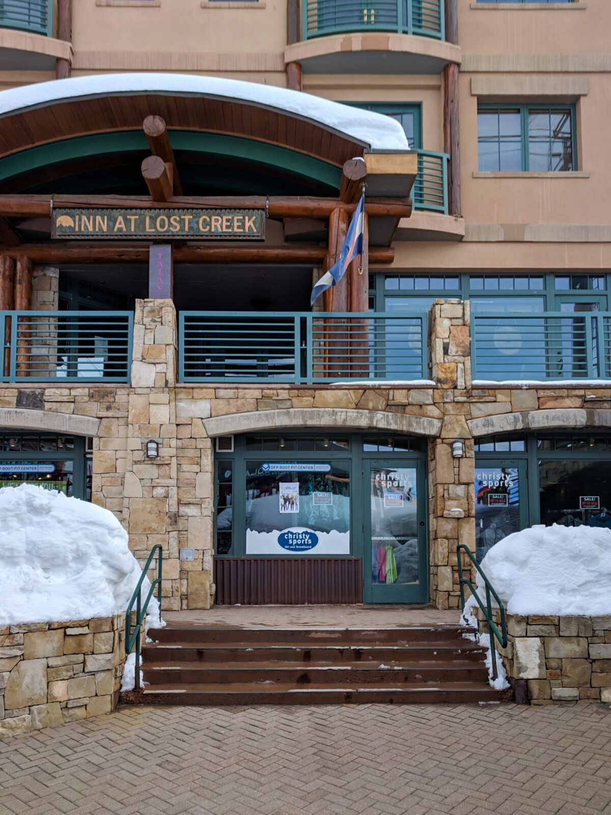 christy sports ski and snowboard rental in the telluride mountain village base area