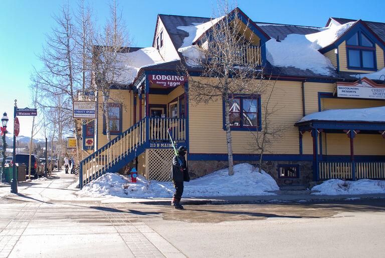 christy sports ski and snowboard rental location in breckenridge