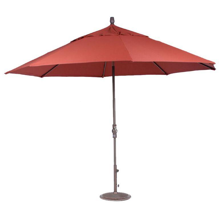 Henna Patio Umbrella with Base