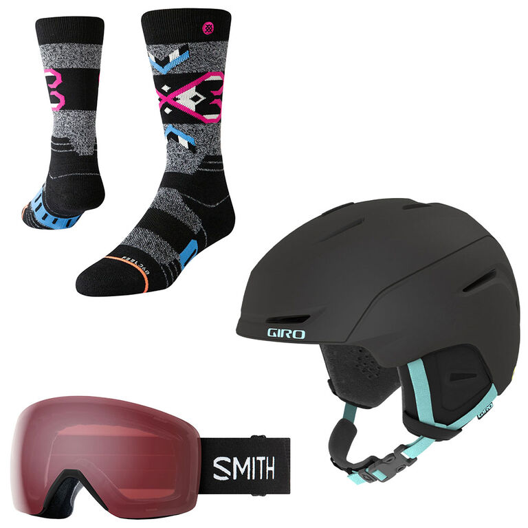 goggles helmets and socks on sale