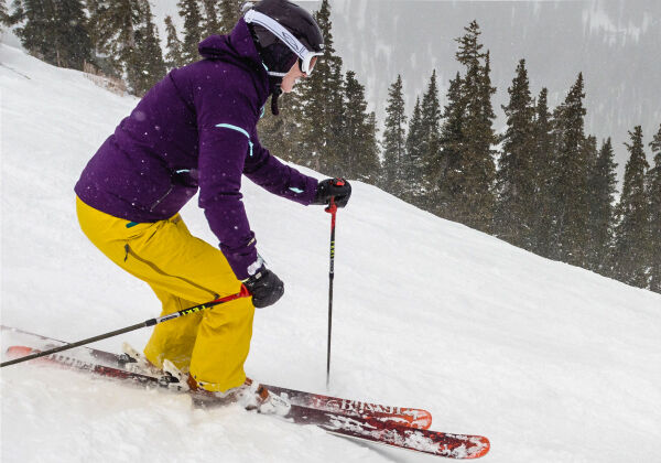 premium ski rental package