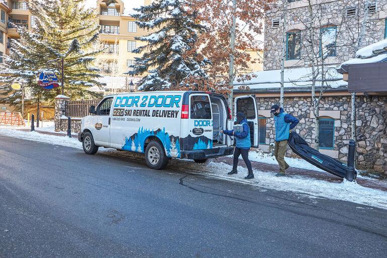 Door 2 Door Ski & Snowboard Rental Delivery