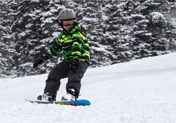 junior snowboard rental packages