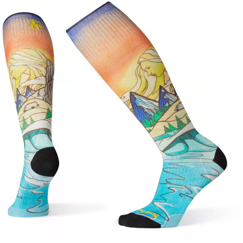 Smartwool PhD Ski Ultra Light Lifecycle Print Socks - Womens image number 0