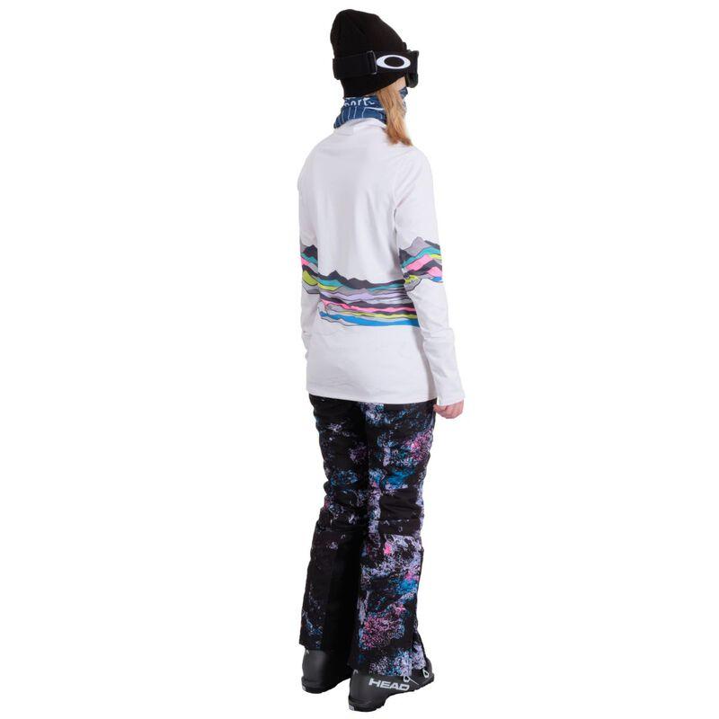 Spyder Moda Zip T-Neck Womens image number 4