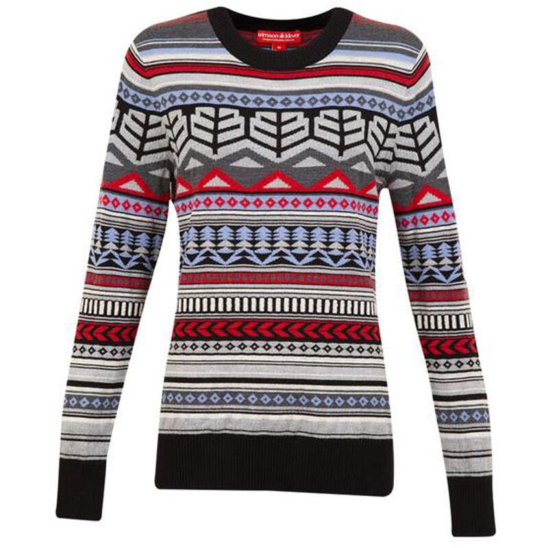 Krimson Klover Cornice Crew Sweater - Womens image number 0