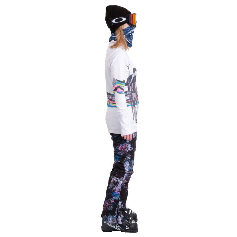 Spyder Moda Zip T-Neck Womens image number 3