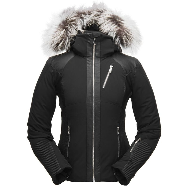 Spyder Amour Real Fur Jacket Womens image number 0