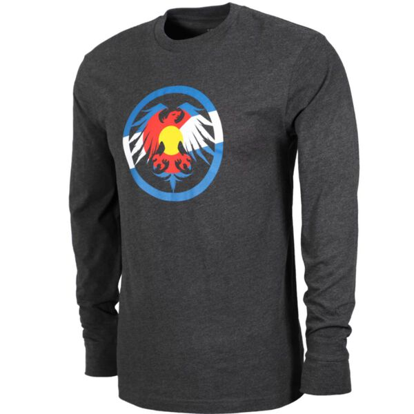 Never Summer Eagle Colorado T-shirt Long Sleeve - Mens