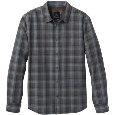 prAna Holton Plaid Long Sleeve Shirt - Mens