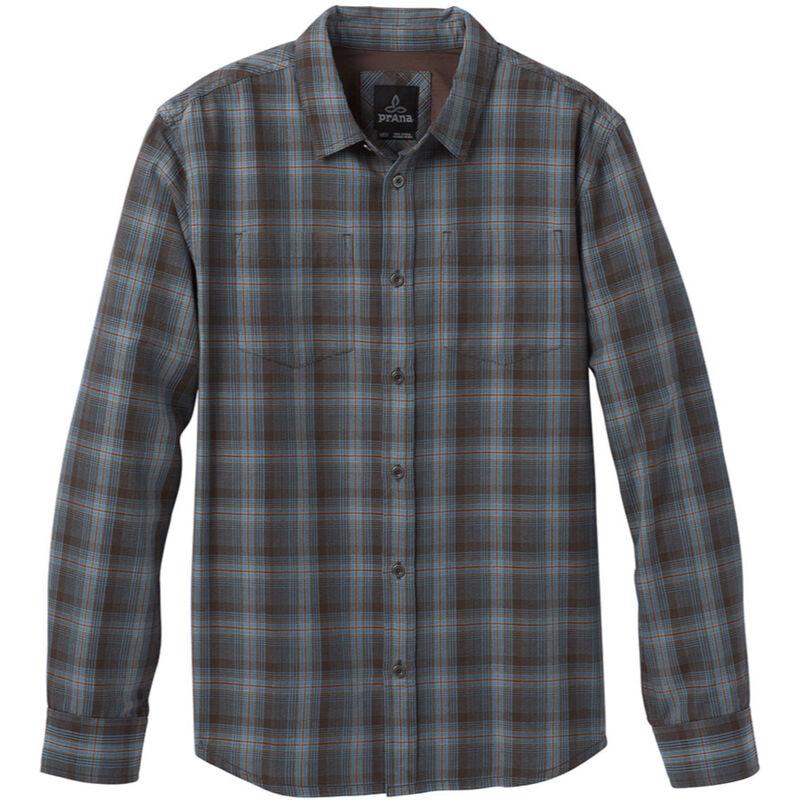 prAna Holton Plaid Long Sleeve Shirt Mens image number 0