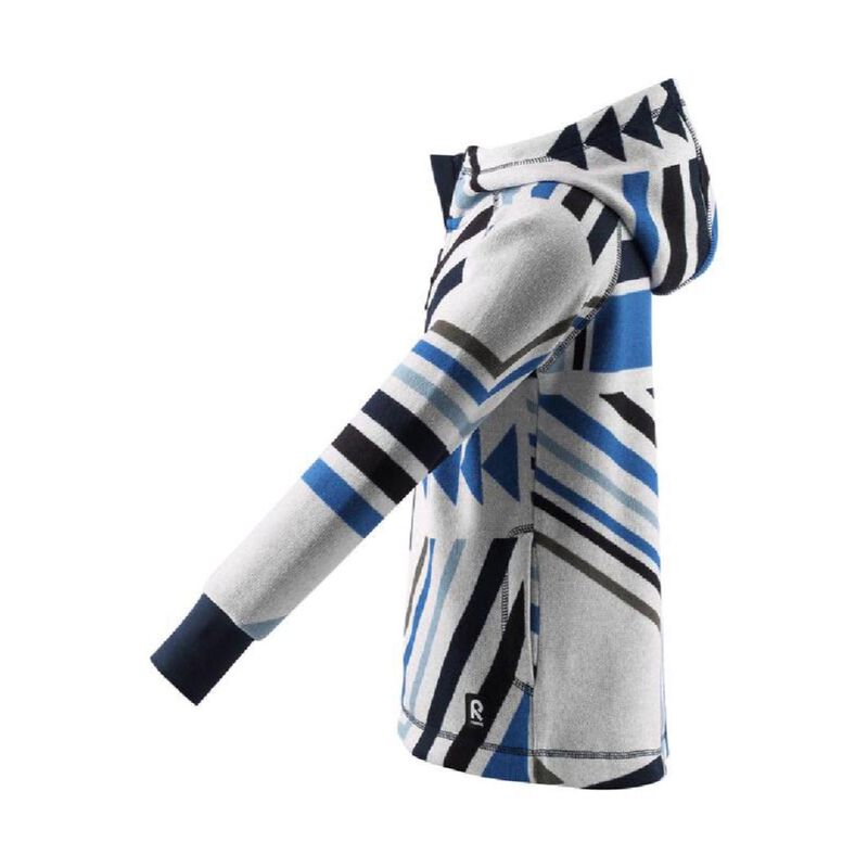Reima Melange Knit Fleece Northern Hoodie Toddler Girls image number 2