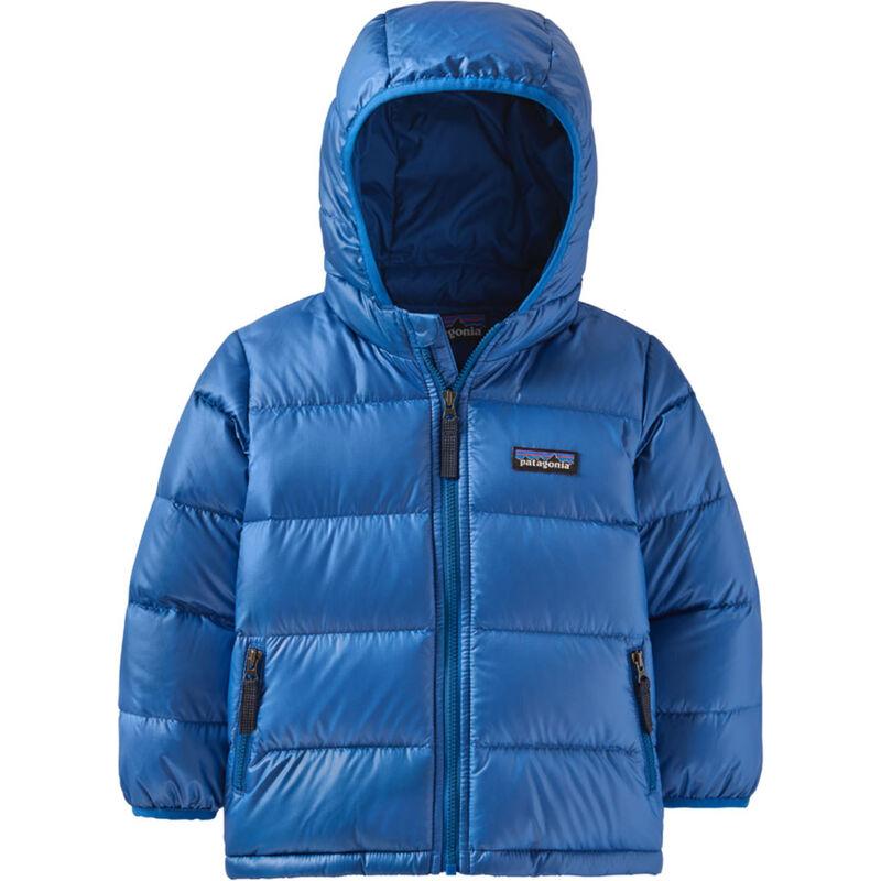 Patagonia Baby Hi-Loft Down Sweater Hoody Jacket Toddlers image number 0