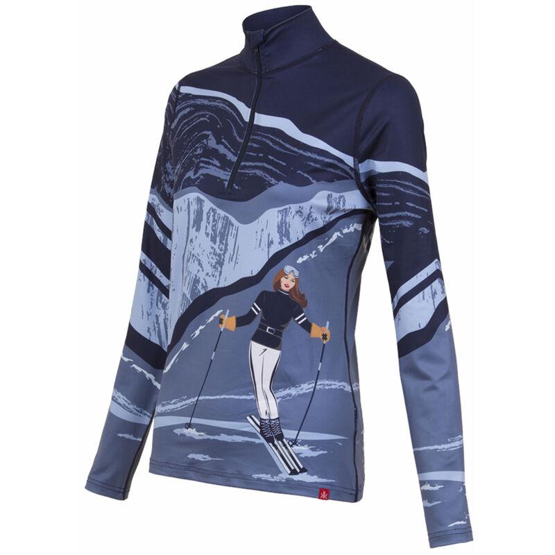 Krimson Klover Elevation Base Layer 1/4-Zip Shirt - Womens 20/21 image number 1