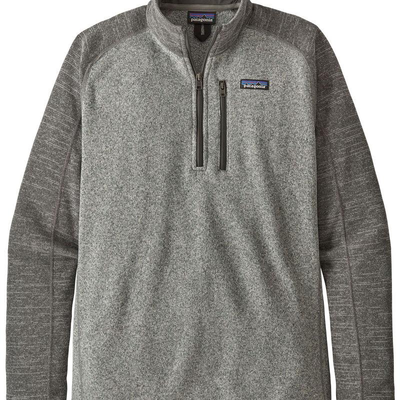 Patagonia Better Sweater 1/4 Zip Fleece Mens image number 0