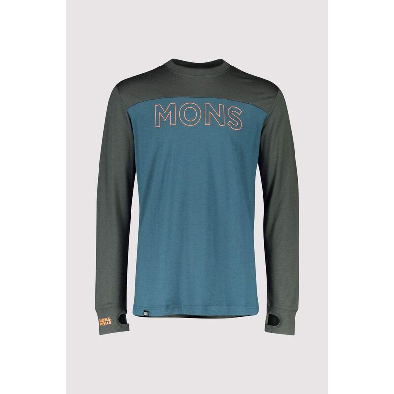 Mons Royale Yotei BF Tech Long Sleeve Crew Mens image number 0