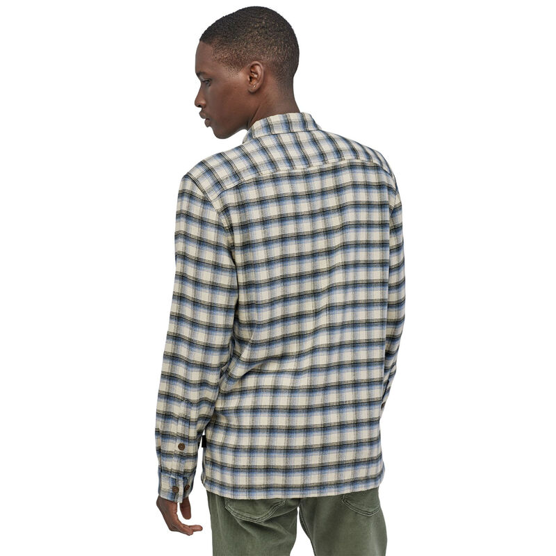 Patagonia Long-Sleeved Fjord Flannel Shirt Mens image number 1