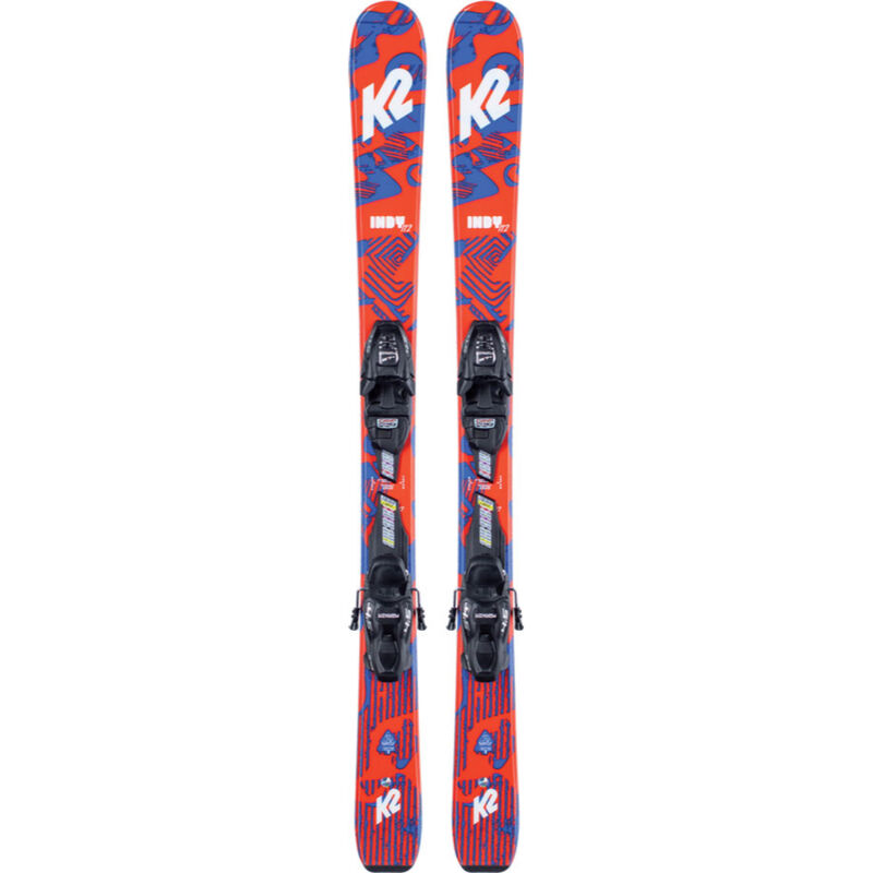 K2 Indy Skis with 4.5 Binding Kids image number 0